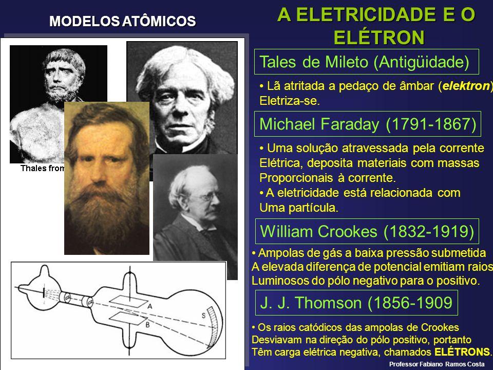 A ELETRICIDADE E O ELÉTRON