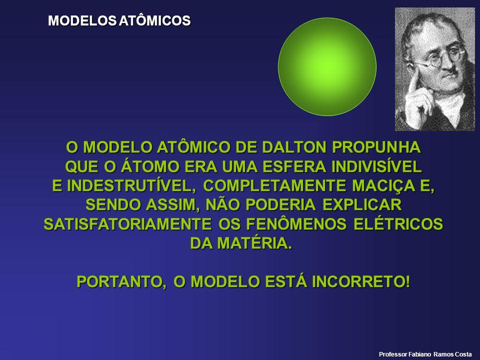 O MODELO ATÔMICO DE DALTON PROPUNHA