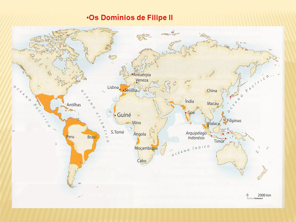 Os Domínios de Filipe II