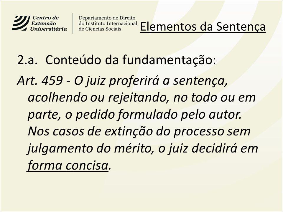 2.a. Conteúdo da fundamentação: