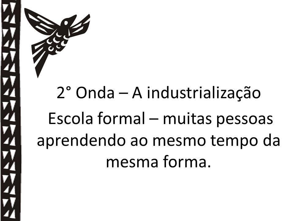 2° Onda – A industrialização