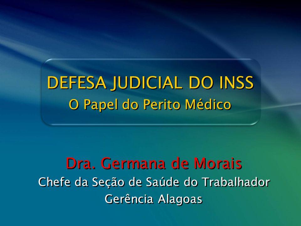 DEFESA JUDICIAL DO INSS
