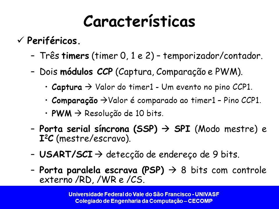 Características Periféricos.