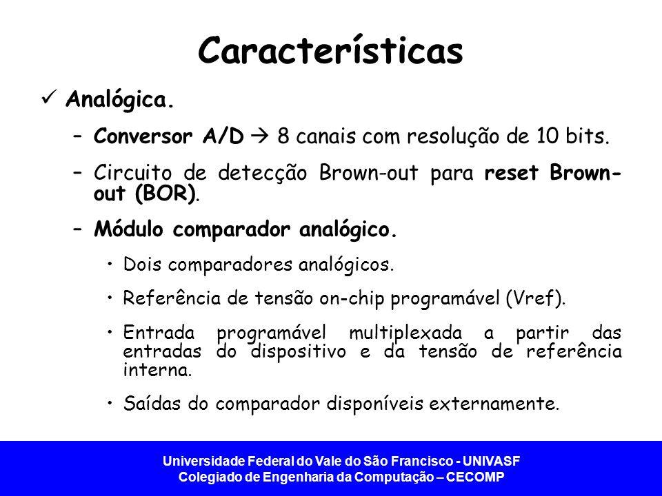 Características Analógica.