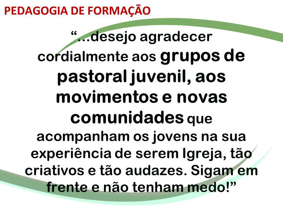 PEDAGOGIA DE FORMAÇÃO