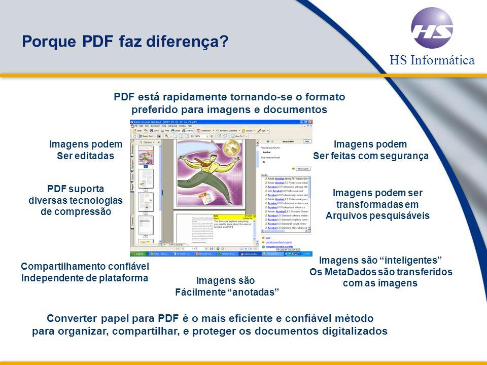 Porque PDF faz diferença