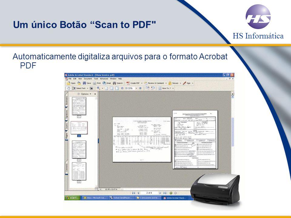 Um único Botão Scan to PDF
