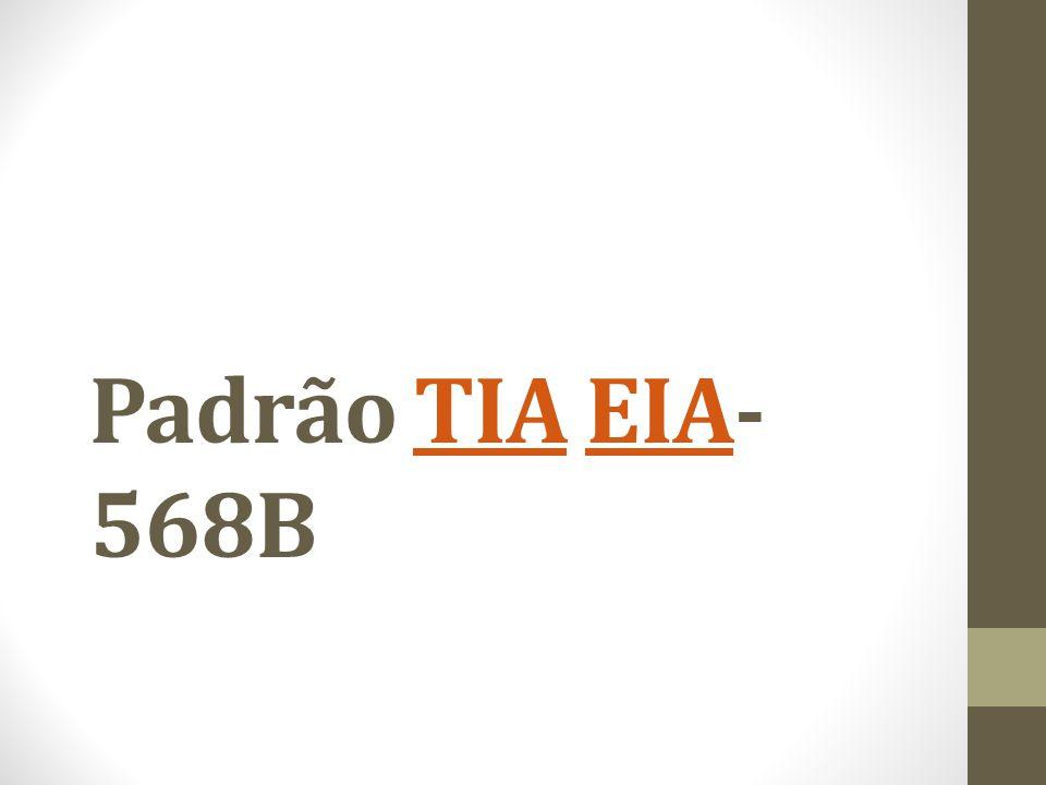 Padrão TIA EIA-568B