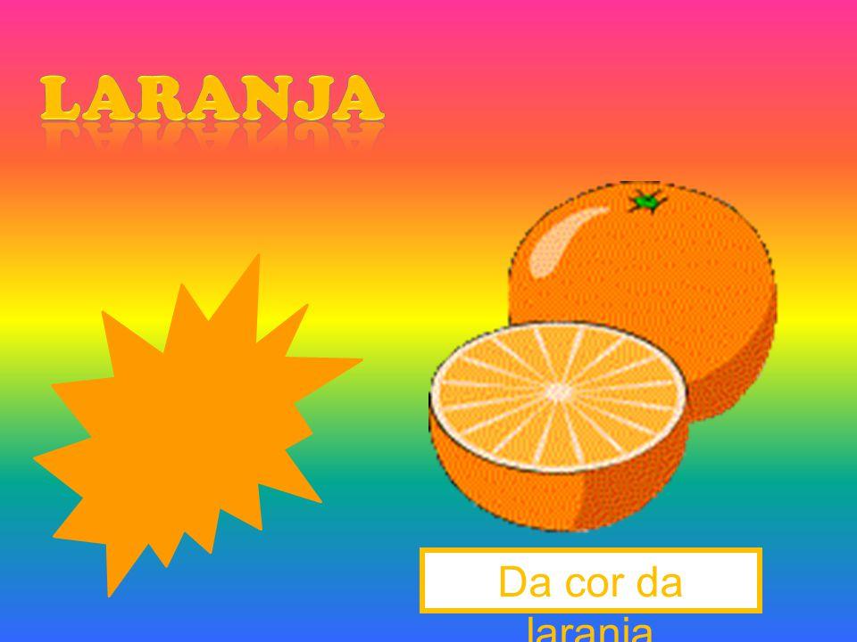 laranja Da cor da laranja
