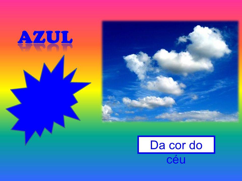 Azul Da cor do céu