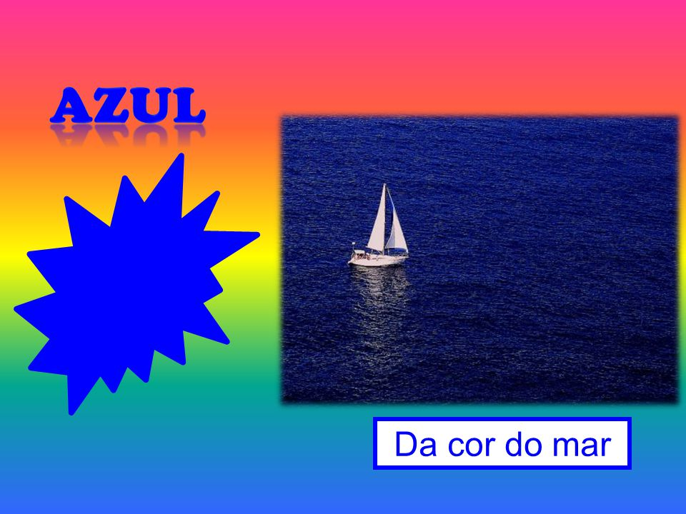 Azul Da cor do mar