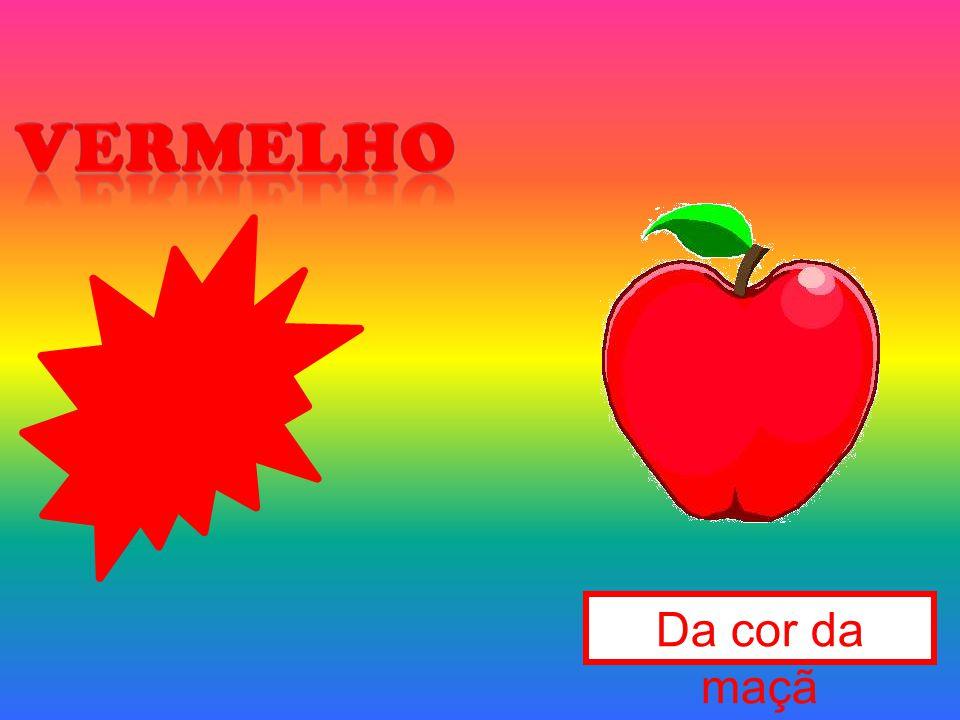 vermelho Da cor da maçã