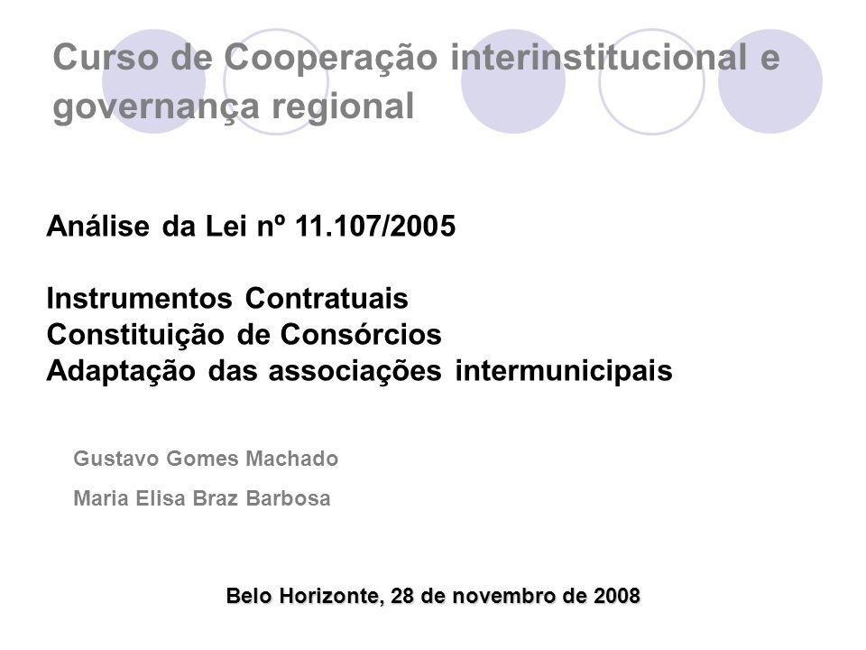Curso de Cooperação interinstitucional e governança regional
