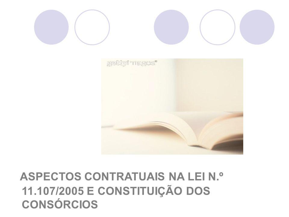 ASPECTOS CONTRATUAIS NA LEI N. º 11