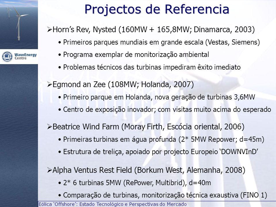 Projectos de Referencia