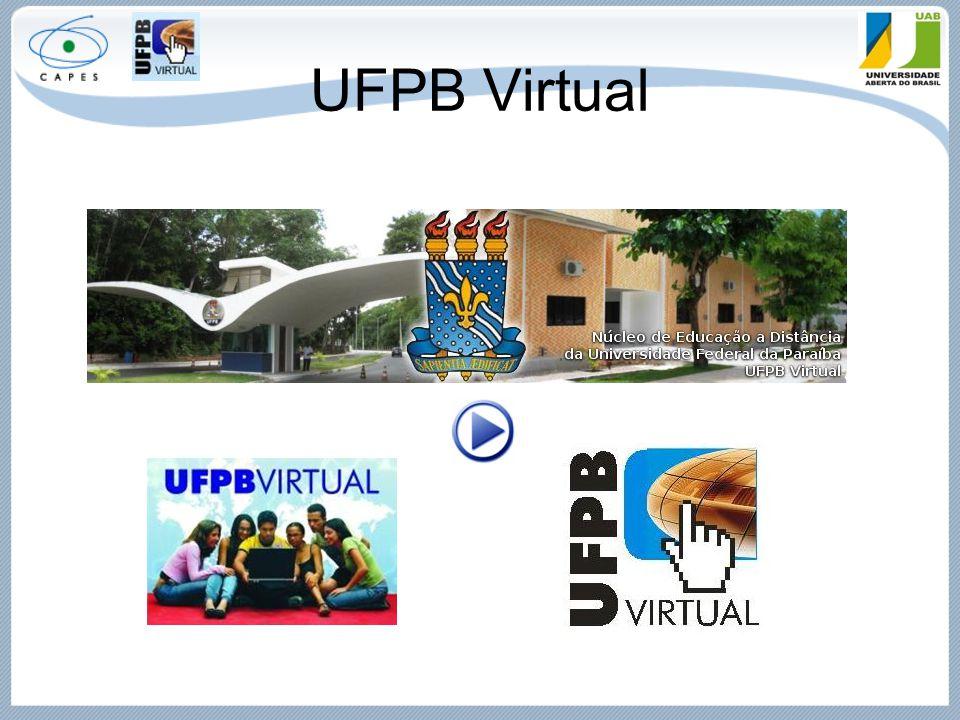 UFPB Virtual Link do vídeo de apresentação do curso com os professores.