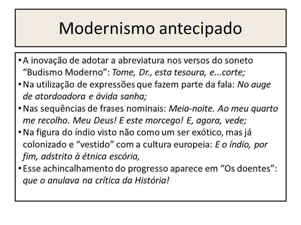 Modernismo antecipado