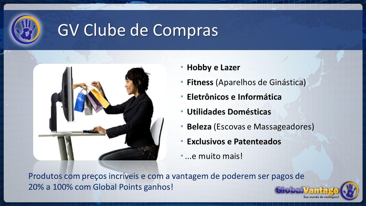 GV Clube de Compras Hobby e Lazer Fitness (Aparelhos de Ginástica)