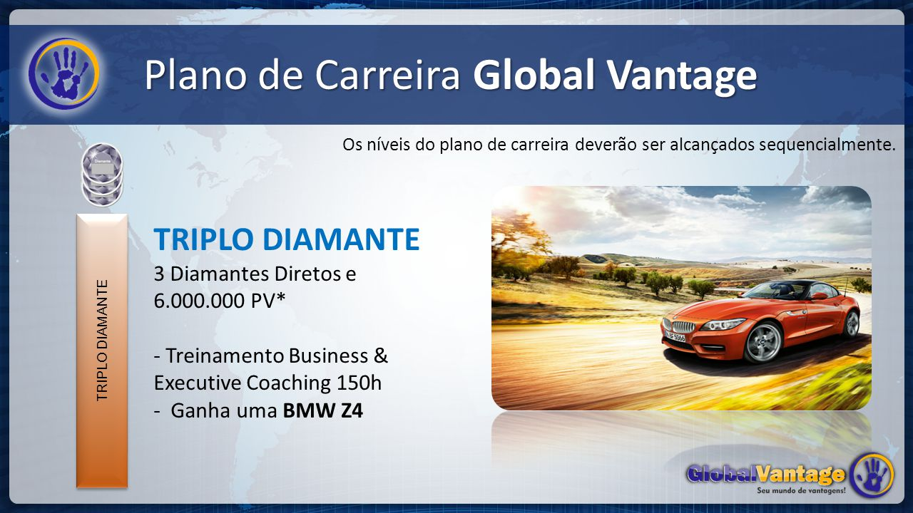 Plano de Carreira Global Vantage