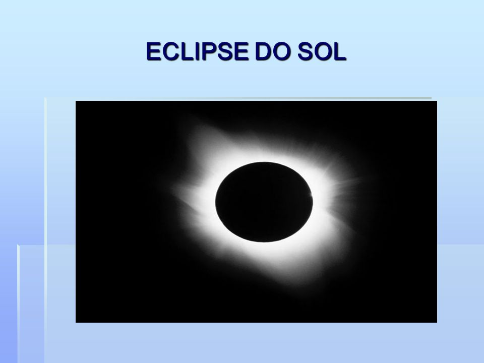 ECLIPSE DO SOL