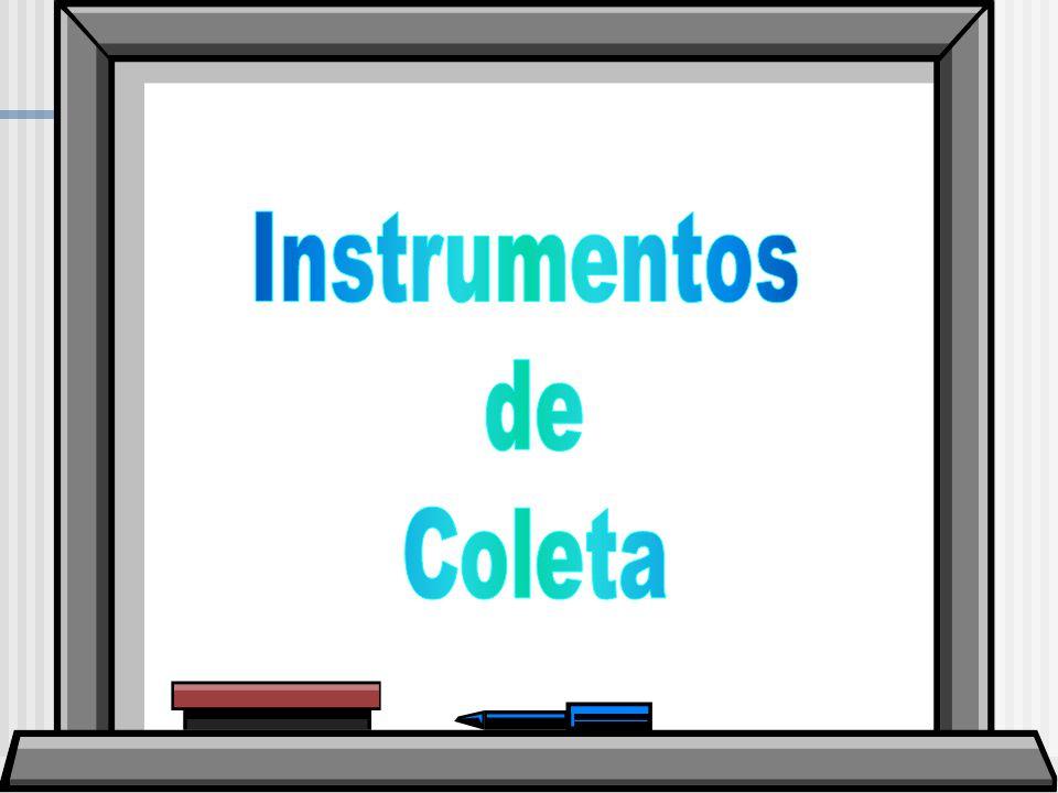 Instrumentos de Coleta