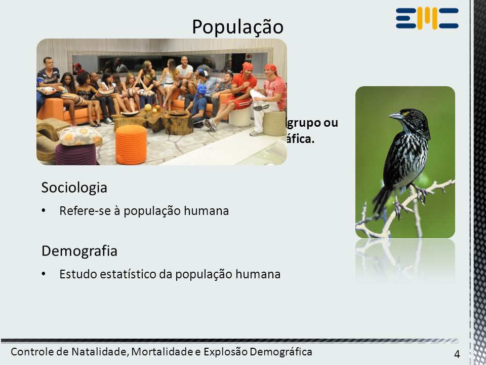 População Biologia Sociologia Demografia