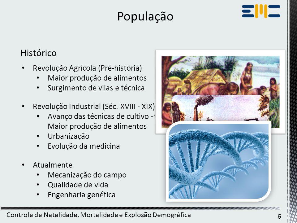 População Histórico Revolução Agrícola (Pré-história)