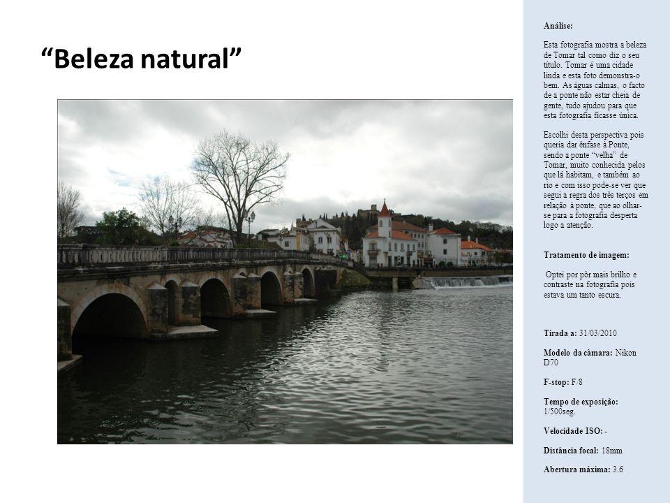 Beleza natural Análise: