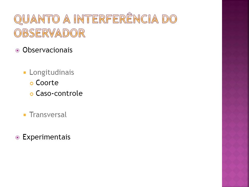 Quanto a interferência do observador
