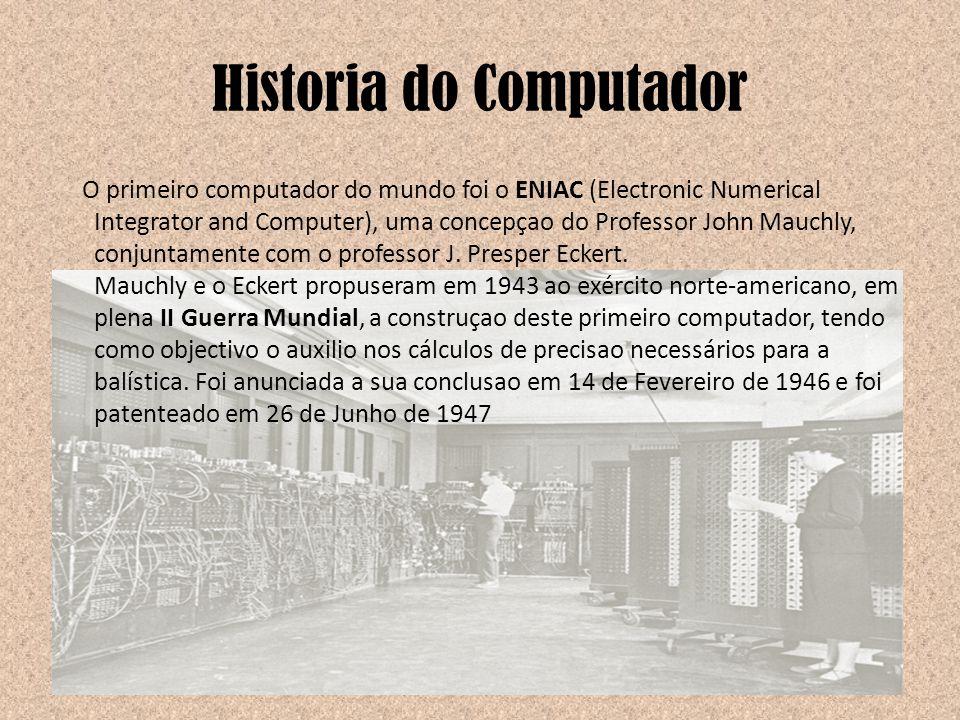 Historia do Computador