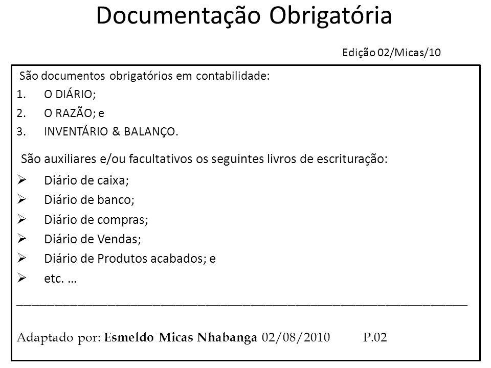 Documentação Obrigatória Edição 02/Micas/10