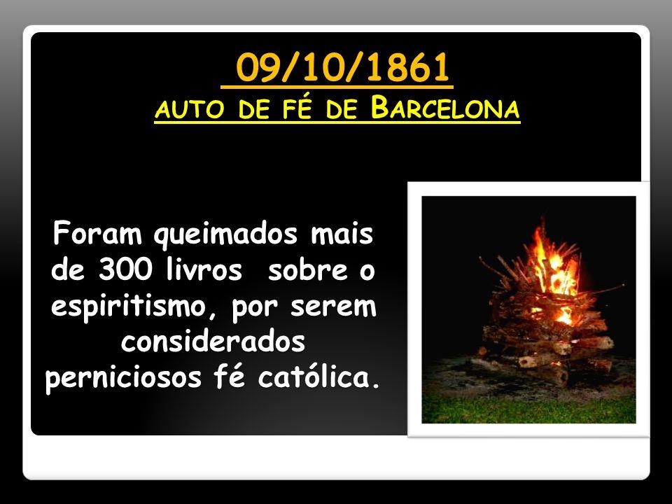 09/10/1861 auto de fé de Barcelona