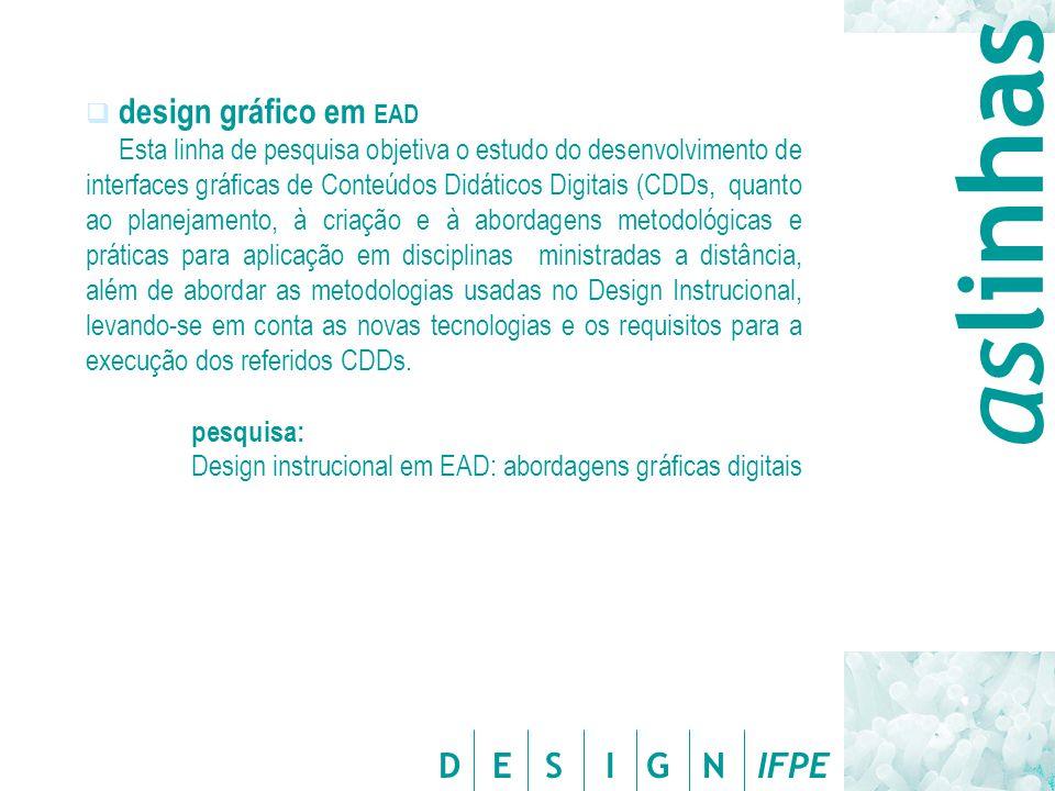 aslinhas design gráfico em EAD