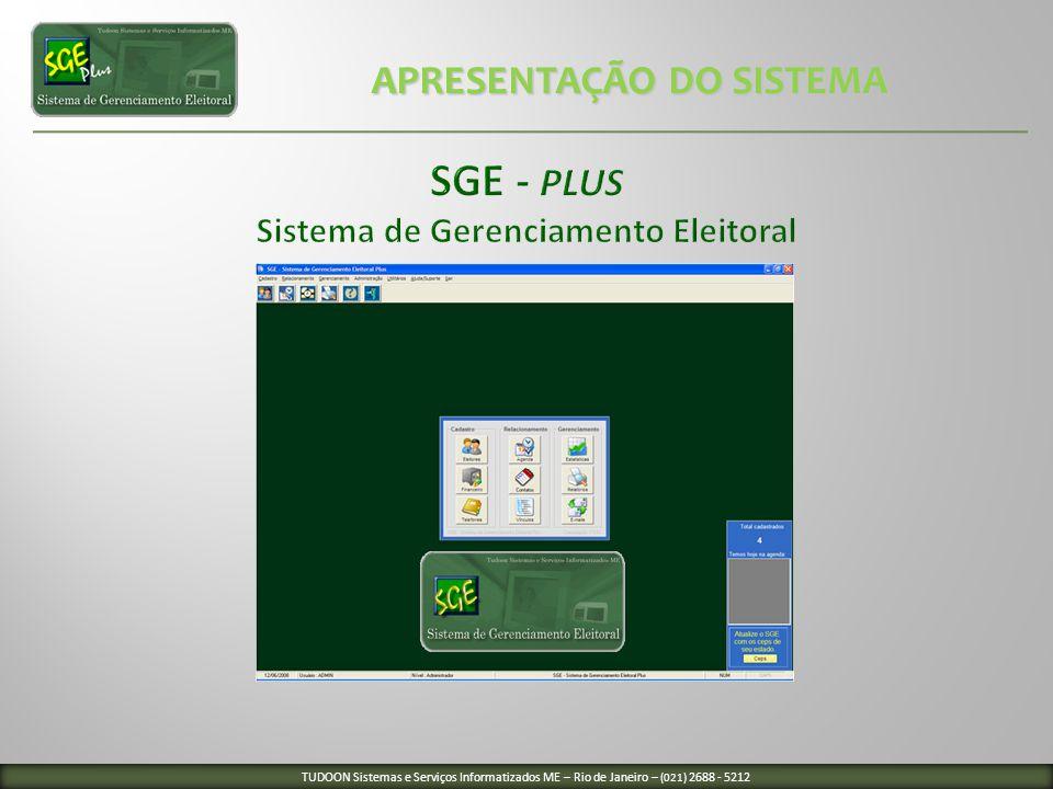 SGE - Plus Sistema de Gerenciamento Eleitoral