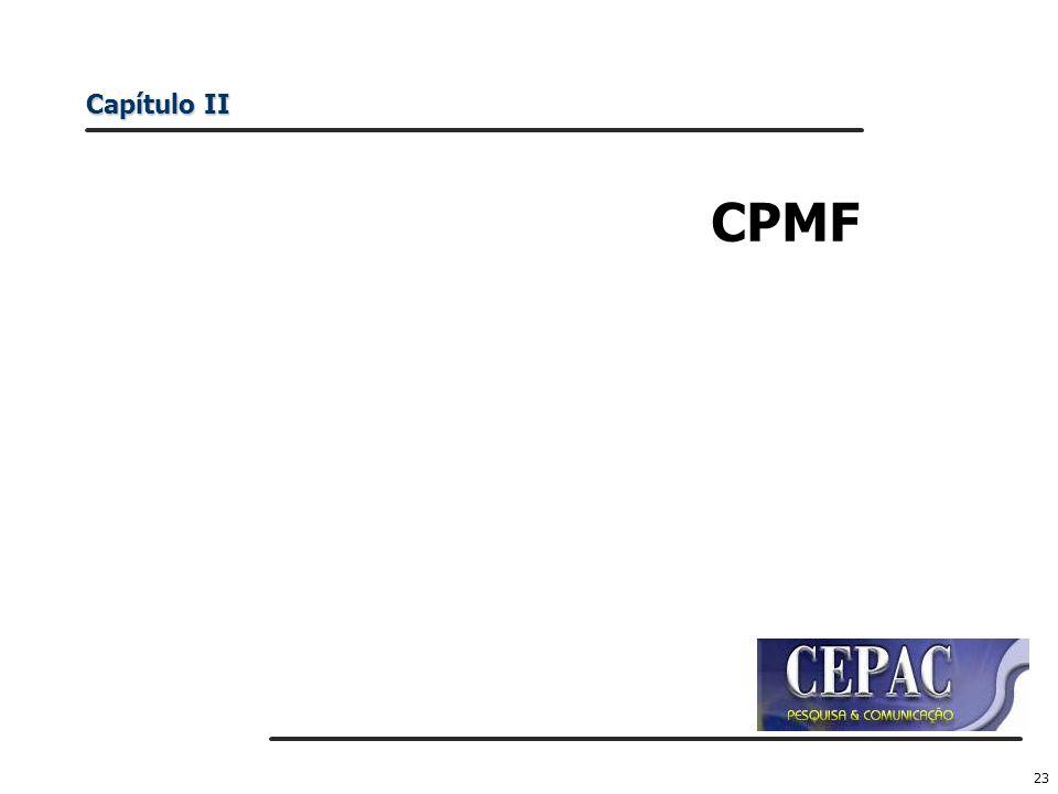 Capítulo II CPMF