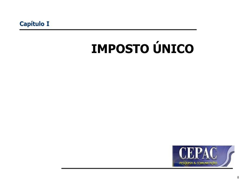Capítulo I IMPOSTO ÚNICO