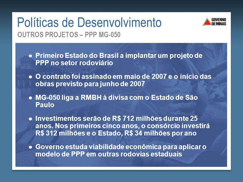 Políticas de Desenvolvimento