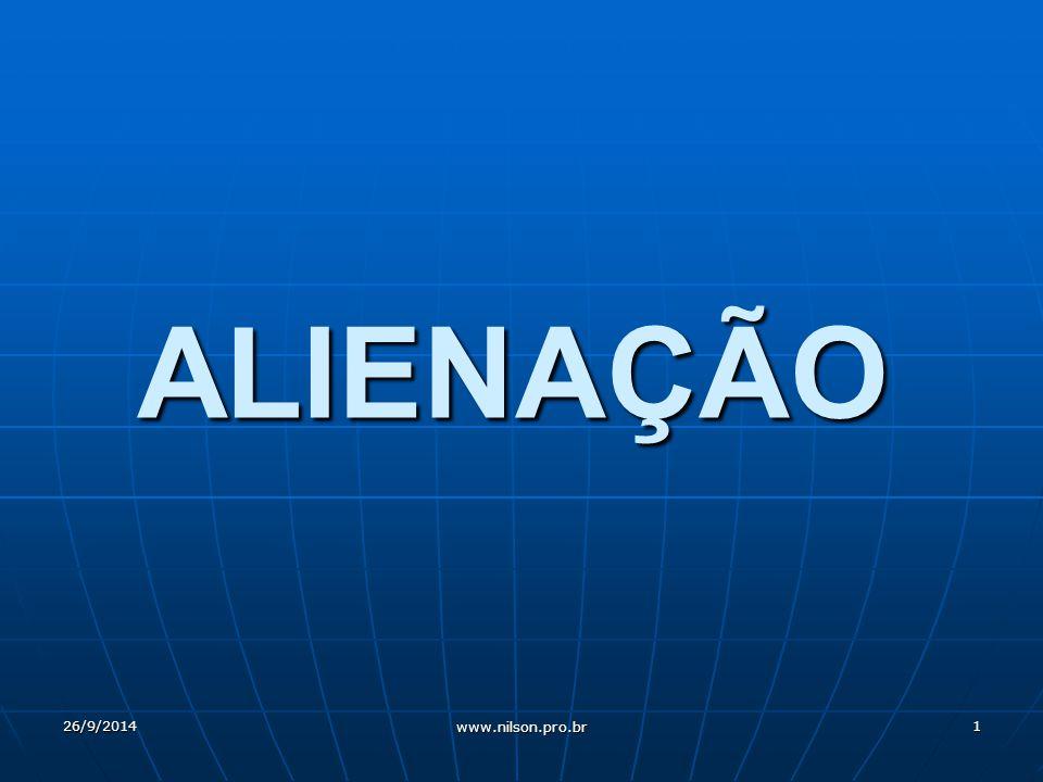 ALIENAÇÃO 02/04/2017 www.nilson.pro.br