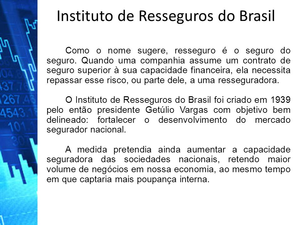 Instituto de Resseguros do Brasil