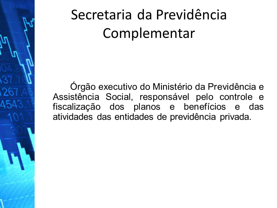 Secretaria da Previdência Complementar