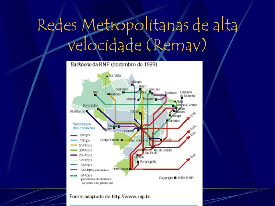 Redes Metropolitanas de alta velocidade (Remav)