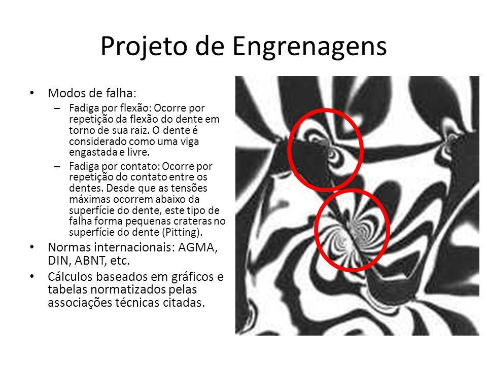 Projeto de Engrenagens