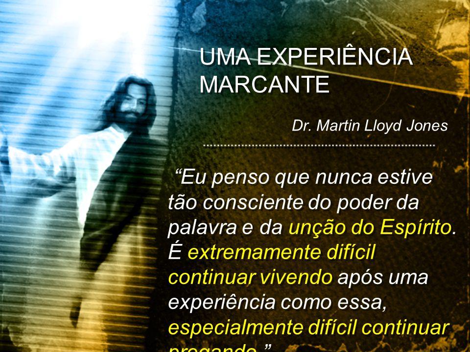 UMA EXPERIÊNCIA MARCANTE