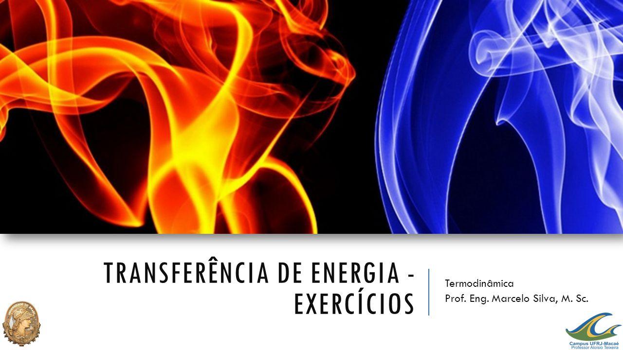 Transferência de Energia - exercícios