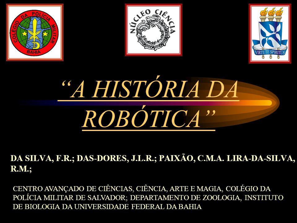 DA SILVA, F.R.; DAS-DORES, J.L.R.; PAIXÃO, C.M.A. LIRA-DA-SILVA, R.M.;
