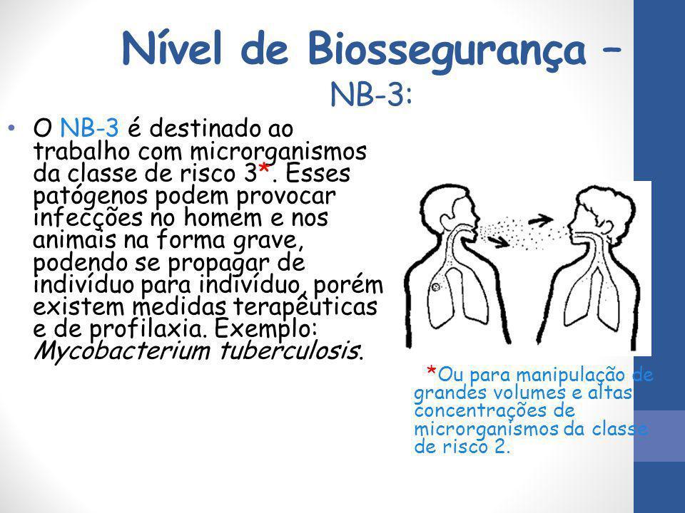 Nível de Biossegurança – NB-3: