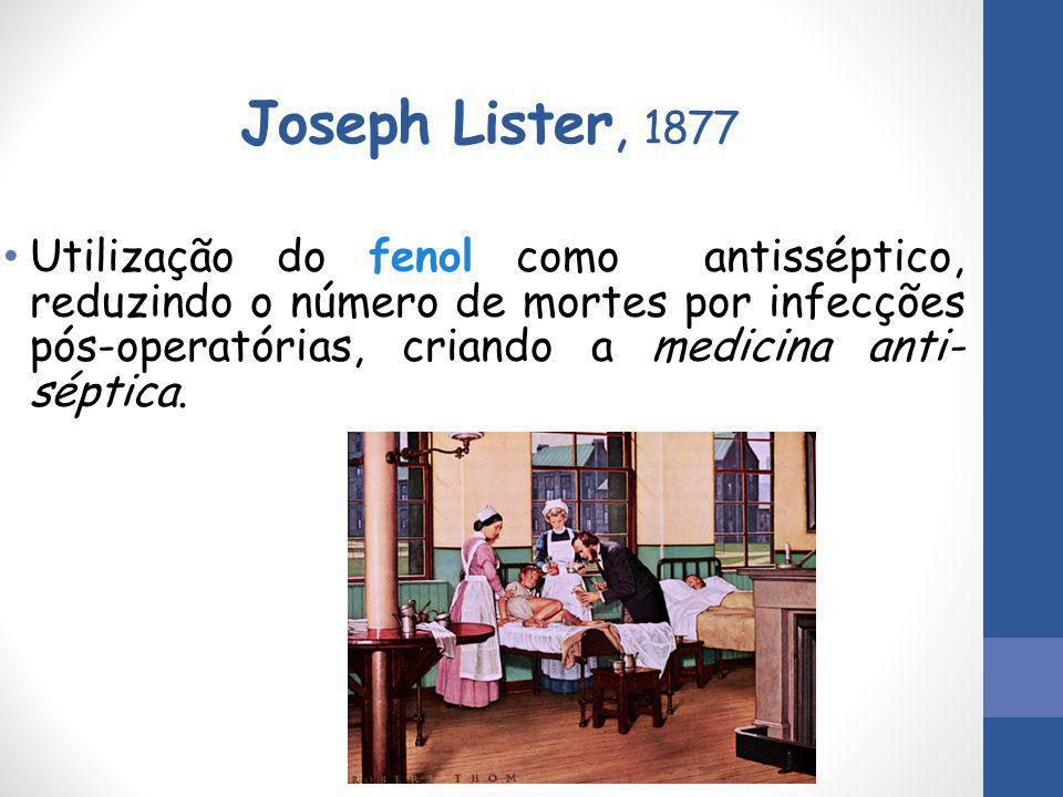 Joseph Lister, 1877