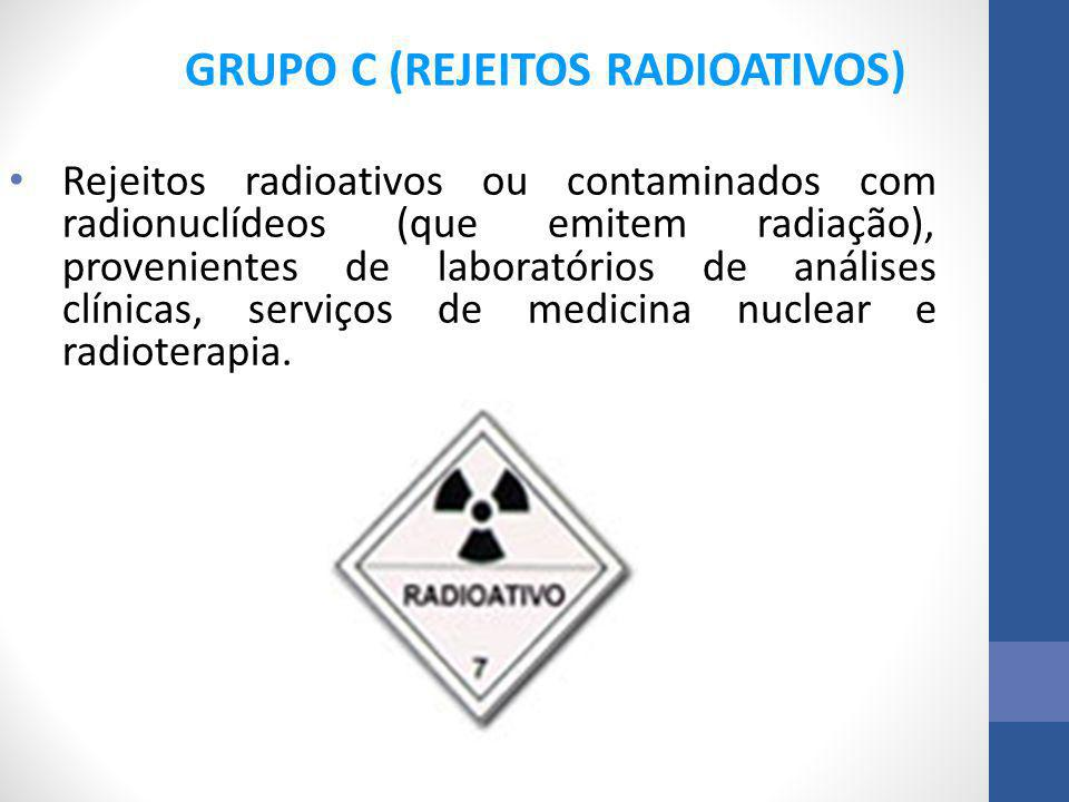 GRUPO C (REJEITOS RADIOATIVOS)