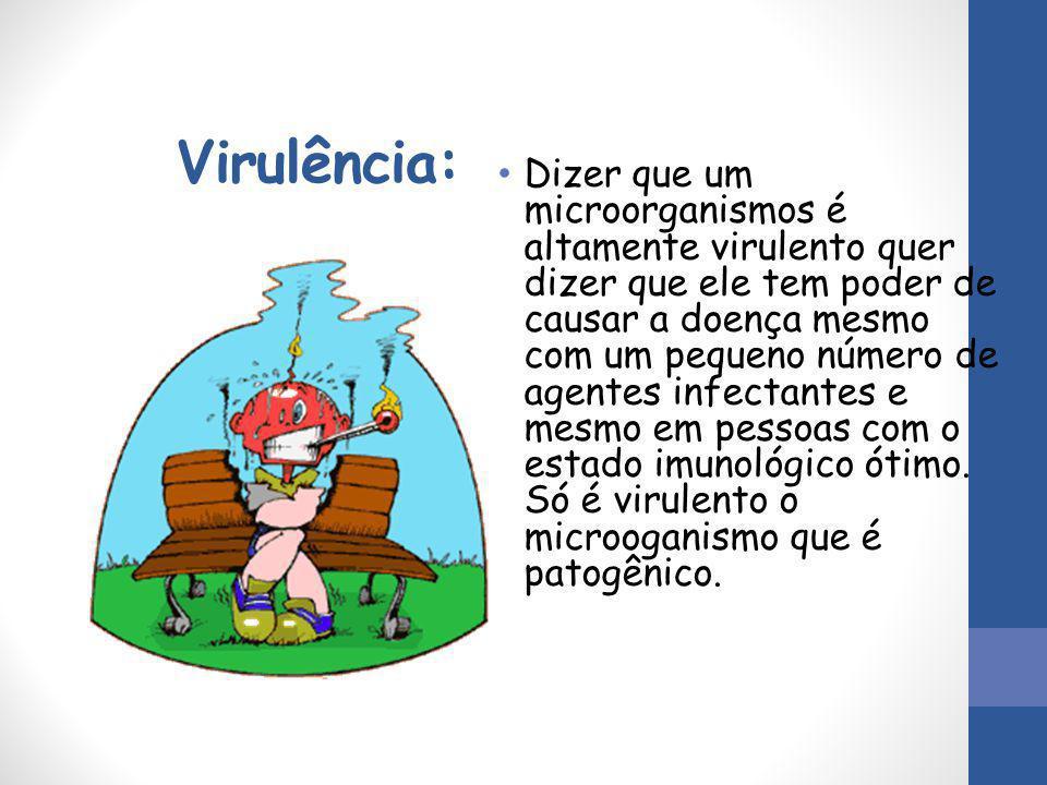 Virulência: