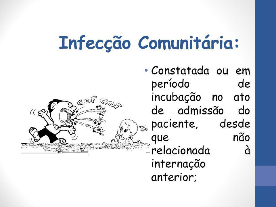 Infecção Comunitária: